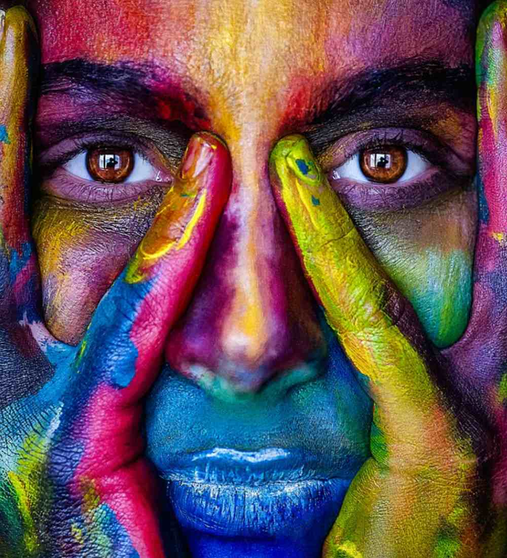 Be the color that you are!